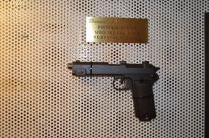 """'Pistola ordinanza austriaca' - """"Ricordando i percorsi della Grande Guerra"""". Spoleto, 28 giugno - 12 luglio 2015."""