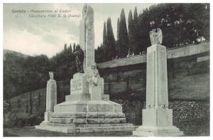 Spoleto. Monumento ai caduti. Collezione Attili