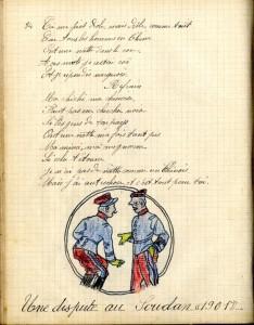 Recueil de chansons de Léon Frédéric Boulin