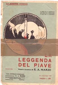 Canzone del Piave Nerina Marzano recto